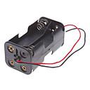 Mini Battery Charger voor 4 stuks AA-Cells Batterij (Zwart)