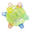Plastique Danse Green Flash Toy Ball