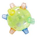 Plast Grønn Dancing Flash Ball Toy