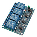 Buy 4 CH Relay Module Optocoupler 5V PIC AVR DSP ARM Arduino