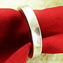 Beige Round Napkin Ring