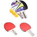 Long Handle Table Tennis Shake-hand Racket Set