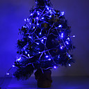 3W 96-LED 210LM Blue Light LED Strip Light for Christmas Decorations (24V)