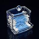 Acryl transparent Schublade geformt Tupfer Box Kosmetik Schublade kosmetische Veranstalter