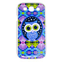 Colorful Owl Pattern Back Case for Samsung S3 i9300