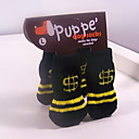 Socks & Boots for Dogs / Cats Black Winter S / M / L Cotton
