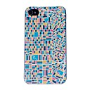 Los Angeles Street Map Pattern PC Hard Case for iPhone 4/4S