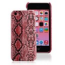 Hot Sales Charm Snakeskin PU Leather Covers for iPhone5C Microfiber Inside