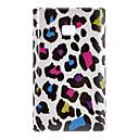 Colorful Leopard Print Hard Back Case for LG L3