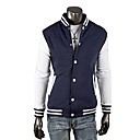 Men's Fashion Leisure Sports Relaxation Baseball Jacket(Assorted Size,Assorted Colors)