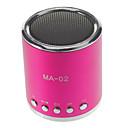 MA-02 소형 TF 구멍 & U 디스크 구멍을 가진 MP3 스피커 & FM 라디오