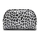 Buy Grey Leopard Quadrate Make up/Cosmetics Bag Cosmetics Storage