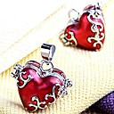 Zawieszki Red Heart Metal Locket