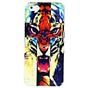 Roaring Tiger Pattern PC Hard Case  for iPhone 4/4S