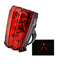 Eclairage de Velo , Eclairage ARRIERE de Vélo / Eclairage de bicyclette/Eclairage vélo - 4 ou Plus Mode Lumens Etanche AAA Batterie