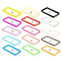 Solid Color TPU Soft Bumper Frame for iPhone 5/5S