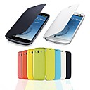 PinkQueen® Solid Color Flip Folio Case for Samsung Galaxy S3 I9300 (Assorted Colors)