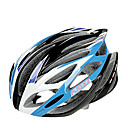 FJQXZ Integrally-molded EPS+PC Blue and White Cycling Helmets (21 Vents)