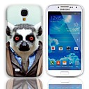 Lovely Bradypode Pattern Hard Case with 3-Pack Screen Protectors for Samsung Galaxy S4 mini I9190