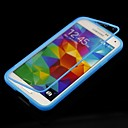 Solid Color with Touch Screen Full Body Case for Samsung Galaxy S5 I9600 (Assorted Color)