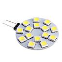 Lâmpadas de Foco de LED G4 7W 480 LM 5500-6500 K Branco Quente / Branco Frio 15 SMD 5050 DC 12 V