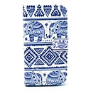 Elephant Tribal Pattern PU Leather Full Body Case with Card Slot Stand for Moto G