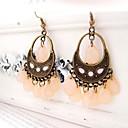 Boucles d'oreilles pendantes perlé de Bohème douce