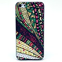Polyelement Carpet Snake Leopard Glass Fragment Pattern Hard Case for iPhone 5C