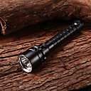 Laddningsbart 1-läge 3xCree XM-L2 U2 Vattentät Diving Flashlight (2x18650, 3800LM)