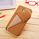 3D Ice Cream Projeto Silica Gel Soft Case para Samsung Galaxy Note 3 (cores sortidas)
