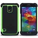 Rugged Rubber Matte Hard Case Cover for Samsung Galaxy S5 i9600