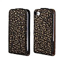3D Hollow Out dekorativt mønster Leather Full Body sak for iPhone 4/4S (assorterte farger)