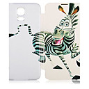 Zebra Pattern PU Leather Full Body Case for Samsung Galaxy S5 I9600