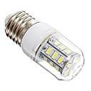 E14 / E26/E27 5 W 24 SMD 5730 450 LM Warm White / Cool White Corn Bulbs AC 220-240 V