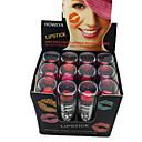 (Heng fang) 12 X Moisture Lip Pigment Para Mulheres