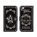 Magic Spells PU Leather Full Body hoesje met standaard en kaartsleuf voor iPhone 4/4S