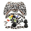 Replacement Leopard Print Housing Case for Xbox 360 Controller