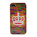 Crown Wall  Hard Skin Case for iPhone 4/4s