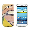 Stylish Smoking 3D Print TPU Soft Back Cover Case for Samsung Galaxy S3 i9300