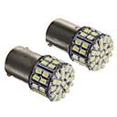 1156 3W 50-LED 50LM 6000K 3020-SMD Cool White Light LED Bulb for Car(12V,2pcs)