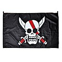 Buy Cosplay Accessories Inspired One Piece Anime Flag Black Terylene Male
