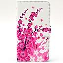 Særlige blomster mønster PU Læder Hard Case med Stand og Card Slots til HTC Desire 310
