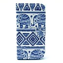 Elephant Tribal Pattern PU Leather Full Body Case with Card Slot Stand for  LG Google Nexus 5