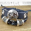 Men's Vintage Shield Wrap Bracelet
