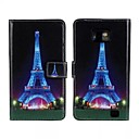 Tower Pattern PU Leather Full Body Case with Stand and Card Slot for Samsung Galaxy S2 I9100