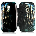 Skull Candy Pattern Full Body Case for Samsung Galaxy S3 Mini I8190