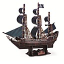 Buy Deluxe Edition Super Big 3D Puzzle Craft Black Pear Ship DIY Three-Dimensional Boat Model Educational Toy