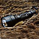 Torcia LED UltraFire C8, 5 modalità, Cree XR-E Q5 (1x18650, nero)