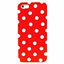 White Dots Pattern Hard Case for iPhone 5/5S