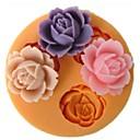 Flowers Shaped Bake fandant mold,L9cm*W9cm*H1cm